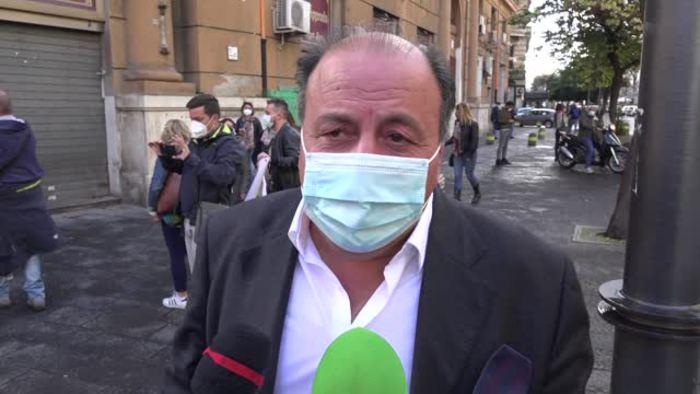 Coronavirus Manifestazione A Napoli Contro Chiusura Scuole Italia Ansa It