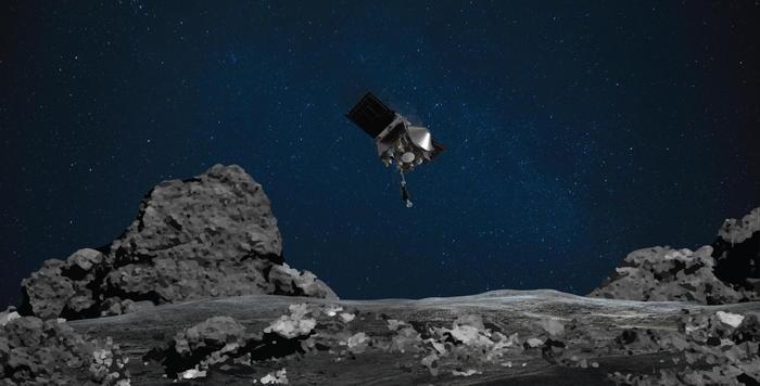 La sonda Nasa atterrata sull'asteroide - Ultima Ora