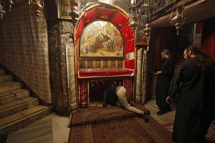 Betlemme, riaperta Basilica Natività - Medio Oriente