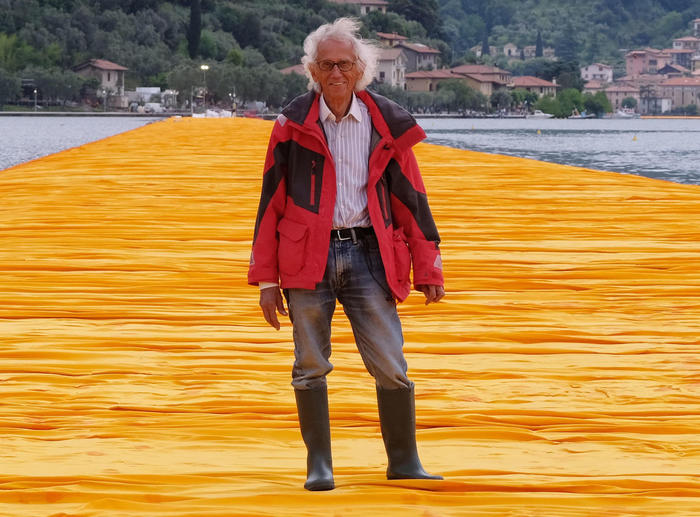 Morto l'artista Christo, aveva 84 anni