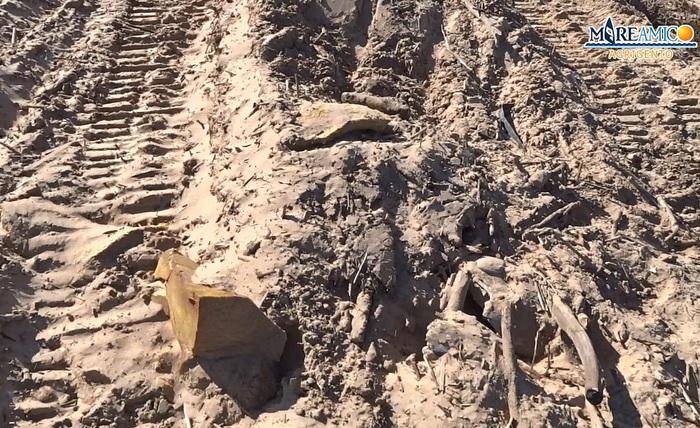 Ambiente: Mareamico, distrutte ad Agrigento dune di sabbia