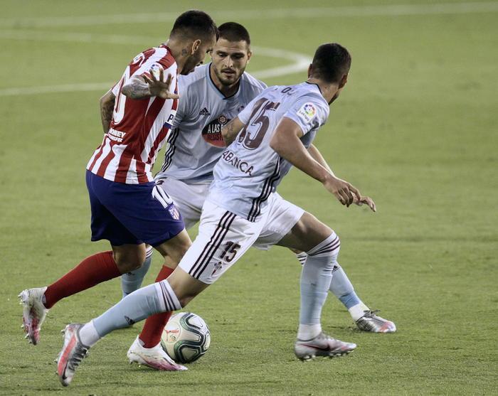 LaLiga: Celta-Atletico 1-1, vince il Valencia