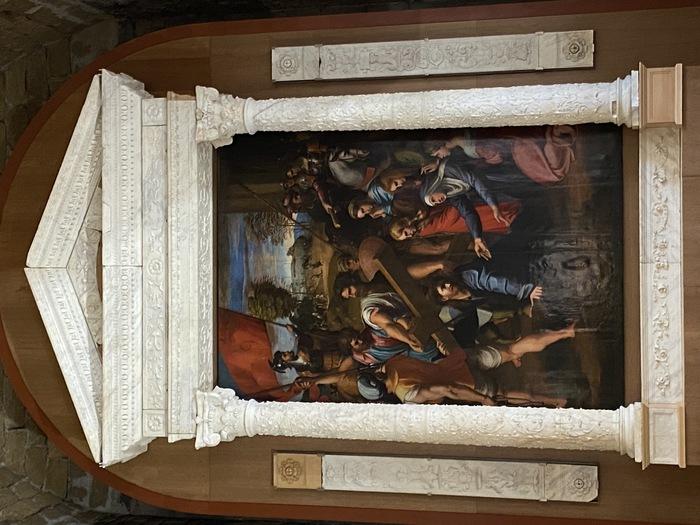 'Restituito' allo Spasimo di Palermo l'altare del Gagini