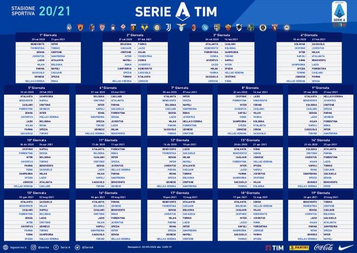Serie A Ecco La Prima Giornata Con Parma Napoli Tre Soste E Sei Turni Infrasettimanali
