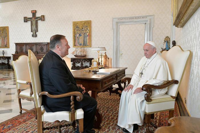 Mike Pompeo: 'Il Vaticano non rinnovi l'accordo con la Cina'