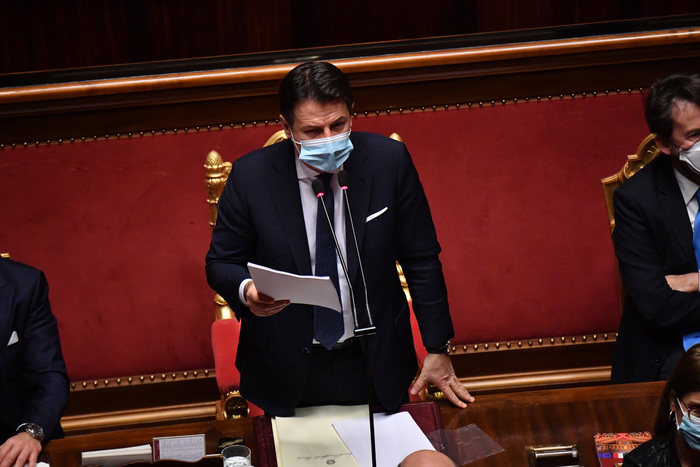 Weird Italy a4b22ca4686836667385bd6c3eac1840 Conte appeals to Senate on day of reckoning for govt - English What happened in Italy today