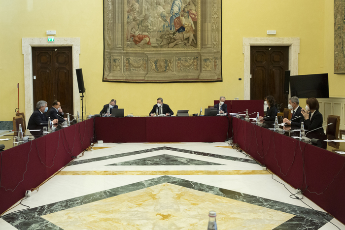 Weird Italy 5588aeb6ff7574387495a280d709826b Draghi meets business associations, trade unions What happened in Italy today