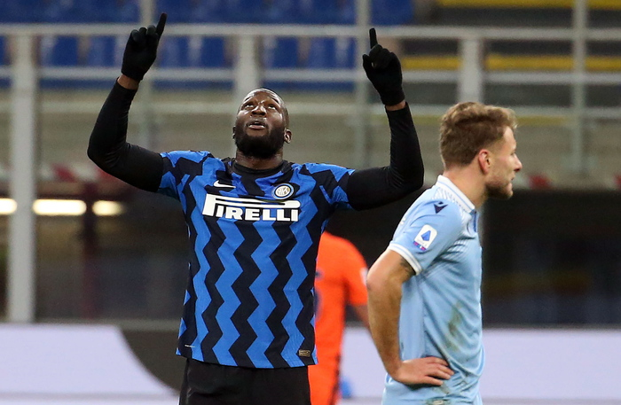 Weird Italy edbb93f2abeb5c844d34ec92a92ea8e4 Soccer: Unstoppable Lukaku puts Inter on top What happened in Italy today