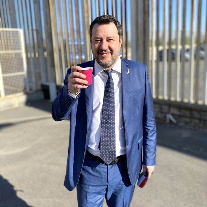 Weird Italy bb1c0359a4d2a0483914097f9ae866d8 We decided on Gregoretti case together - Salvini What happened in Italy today