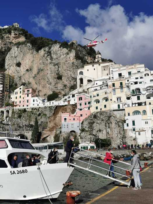 Weird Italy a55385aa021baa4fa5245c1f3864b88d Landslide hits Amalfi road What happened in Italy today
