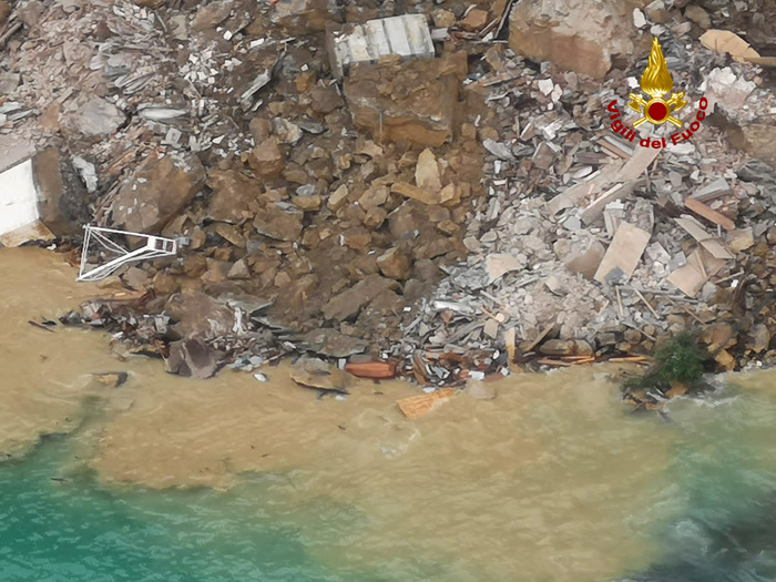 Weird Italy 407ebecc777ea76b618dc4f58340ca4d Body found off Genoa after Camogli cemetery collapse What happened in Italy today