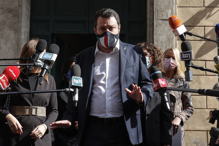 Weird Italy 69a8943851661be36c1f71236c543270 Talk of Easter lockdown disrespectful - Salvini What happened in Italy today