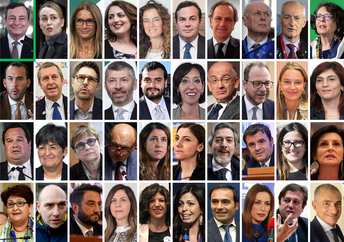 Weird Italy f9a8d5d37614d6bfdaa98ee87bf3f9c2 Draghi completes govt team with 19 women, 20 men What happened in Italy today