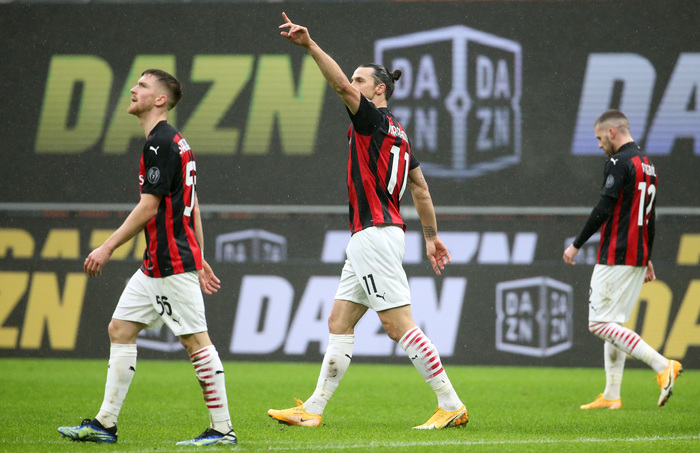 Weird Italy a24042834699b0fa3cf415d884e46d9b Soccer: Super Ibra puts Milan back on top What happened in Italy today