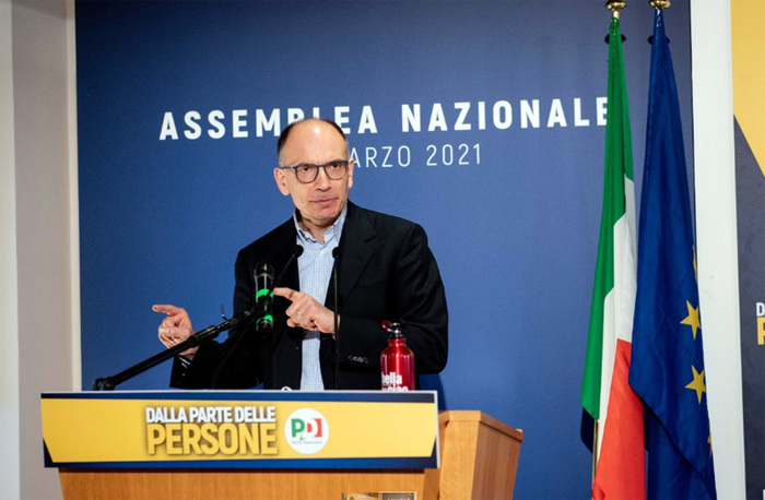 Weird Italy eddaa6f736eb03b71bec3f6d658ac775 Letta vows to create 'new party' after being elected PD head What happened in Italy today