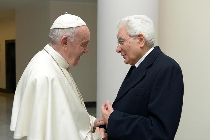 Weird Italy 1c65e9a083dd540a69ddbed7f22c0ed6 Mattarella hails pope's efforts to promote fraternity What happened in Italy today