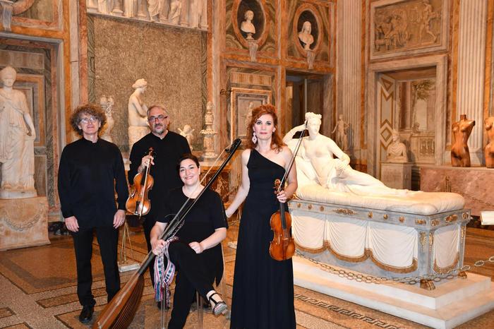 Concerto Barocco alla Galleria Borghese e su Ansa.it il 29