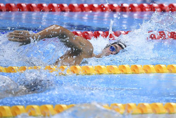 Tokyo, nuoto: Paltrinieri bronzo nella 10 km
