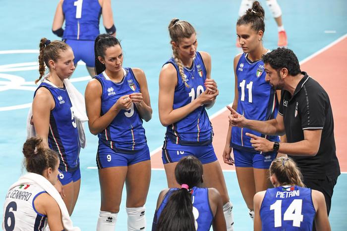 Tokyo: pallavolo, anche l'Italia donne fuori nei quarti
