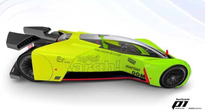 Ford trasforma auto da corsa virtuale P1 in simulatore gioco
