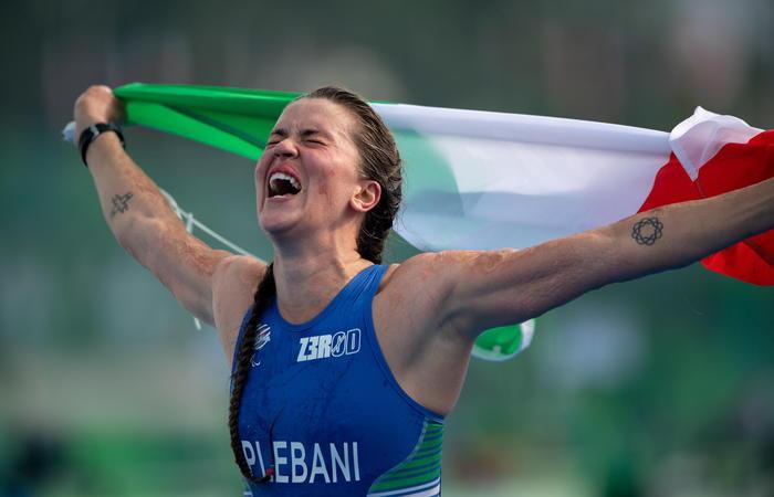 Paralimpiadi: altre medaglie per l'Italia nel triathlon e nel nuoto
