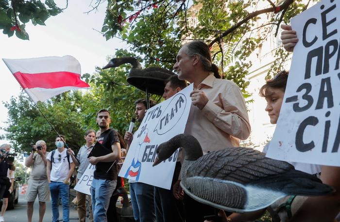 Trovato impiccato a Kiev attivista bielorusso scomparso