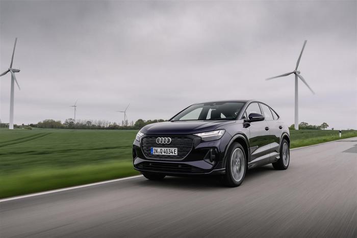 Audi Q4 Sportback 40 e-tron, aperte le prevendite in Italia