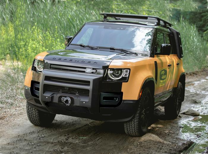 Land Rover: Defender Trophy Edition, ancora voglia di Camel