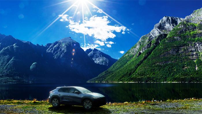 Subaru Solterra, primo suv full electric delle Pleiadi