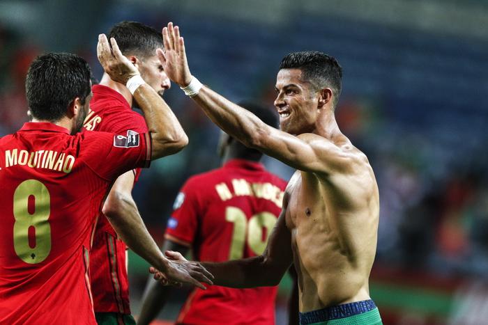 Ronaldo record,con storica doppietta trascina Portogallo