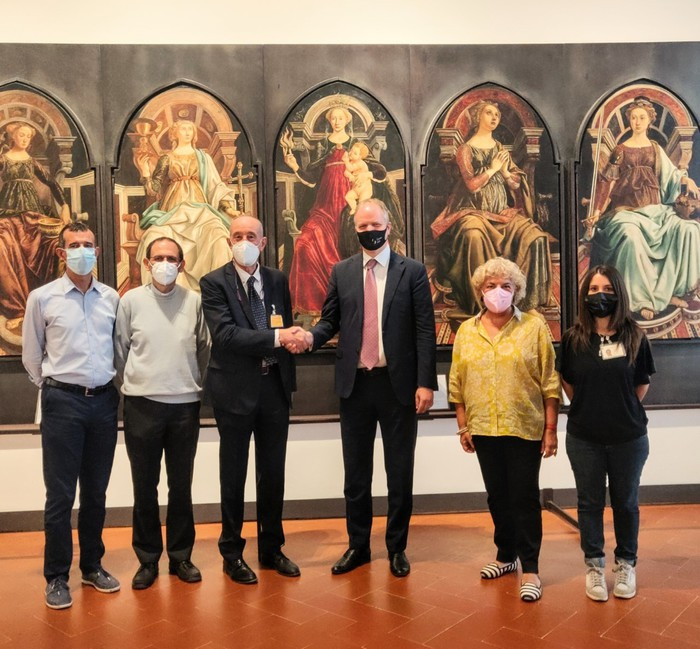 Musei: accordo Uffizi e Caritas per iniziative per giovani
