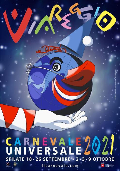 Carnevale Viareggio dedicato a Carrà, 'Burlamacco' a Lippi
