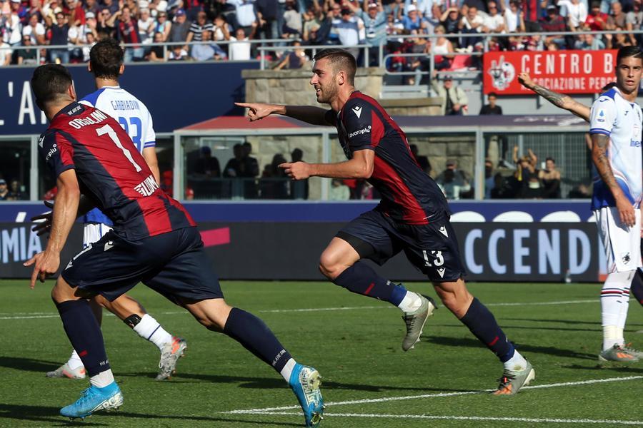 Serie A: Bologna-Sampdoria 2-1 - Calcio - Ansa.it