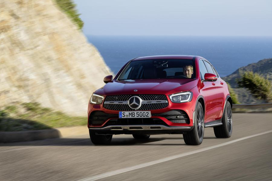 Nuovo Mercedes-Benz GLC Coupè © Ansa