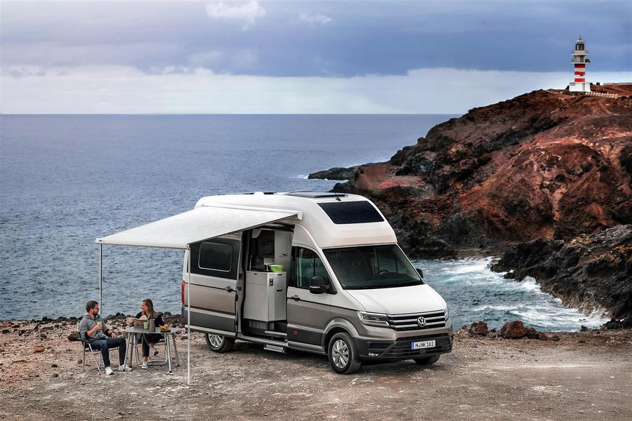 Grand California, la versione large del motorhome secondo VW © Ansa