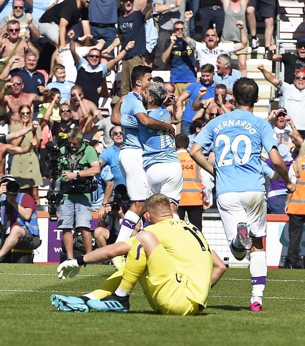 Premier: Bournemouth-Manchester City 1-3 ©