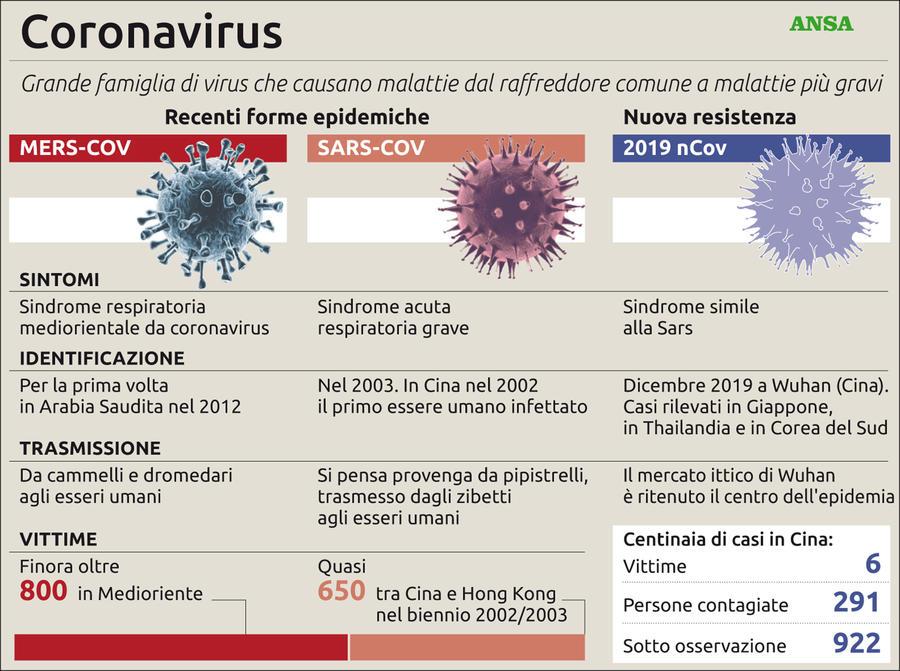Risultato immagini per Coronavirus