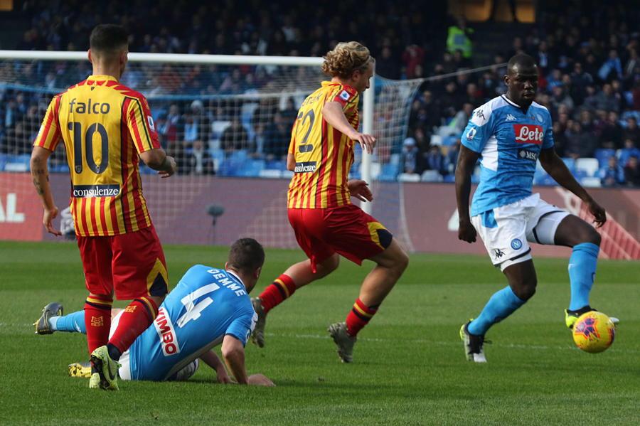 Serie A: Napoli-Lecce 2-3 - Calcio - Ansa.it