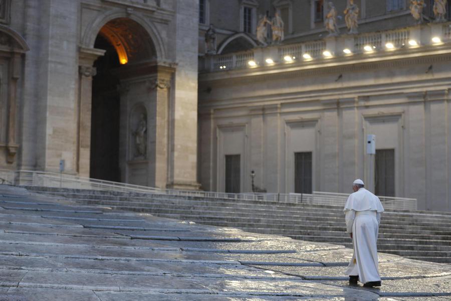 Coronavirus: il Papa, già si sente la fame, conseguenza della ...