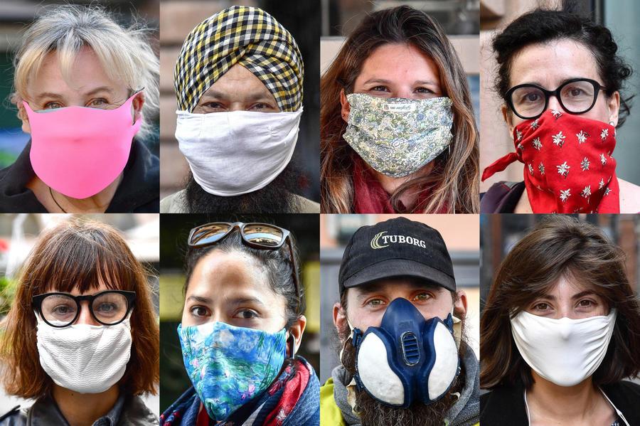 Coronavirus: Volti e sguardi dietro le mascherine - Primopiano - Ansa.it
