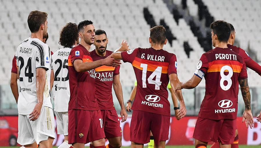Calcio Juventus Roma 1 3 Calcio Ansa It