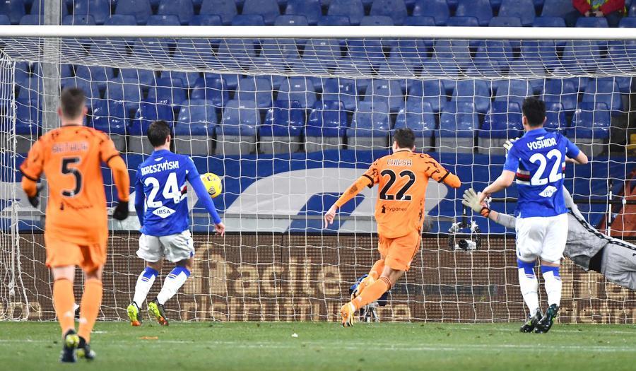 Serie A: Sampdoria-Juventus 0-2 - Calcio - Ansa.it