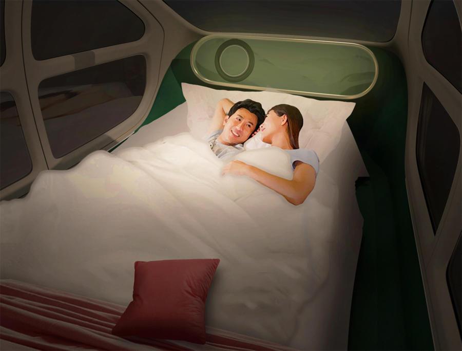 IM Motors Airo, auto aspirapolvere dove si mangia e si dorme - Prove e Novità - ANSA.it