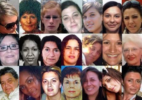 Violenza donne una lunga scia di sangue photostory for Nomi delle donne della politica italiana