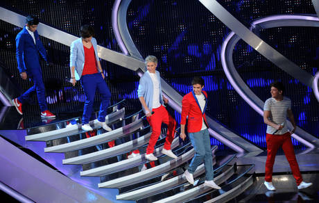 SANREMO: QUARTA SERATA, ONE DIRECTION