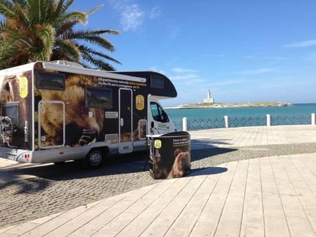 Il Parco sale sul camper per andare al mare - Abruzzo ...