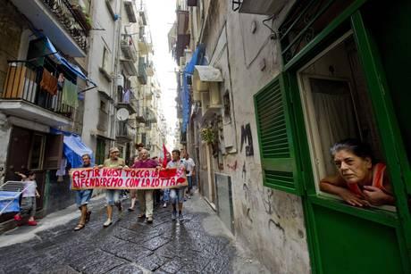 Corteo Disoccupati A Napoli Traffico In Tilt Campania Ansa It