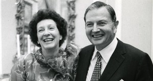 Peggy and David Rockefeller, May 1973. Photo: Arthur Lavine/Rockefeller Estate. Dal sito Christie's
