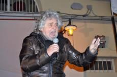 Grillo, ce l'ho con triplice no con Fiom – Politica – ANSA.it