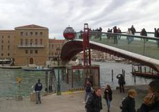CONTROVERSIAL VENICE BRIDGE GOES WHEELCHAIR FRIENDLY